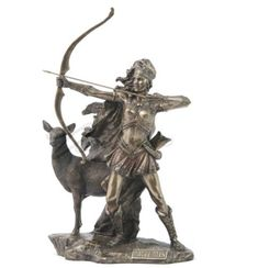 Artemis-Sculpture-The-Goddess-Of-Hunting-And-Wilderness-Statue-Figurine