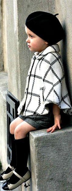 Parisian Chic - ♔LadyLuxury♔, Had to pin this darling child here on this board.......TG