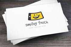 Smiley Touch Logo Template #mobile #device  • Download : http://1.envato.market/c/97450/298927/4662?u=https://elements.envato.com/smiley-touch-logo-template-6ASRL4