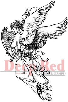 Angels - Rubber Stamps - 123Stitch.com