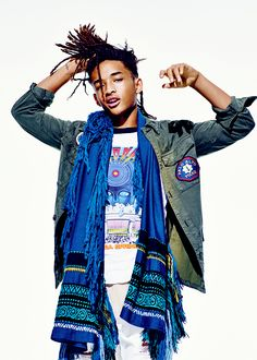 celebritiesofcolor: Jaden Smith for GQ Magazine