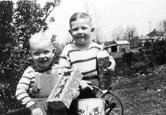 Duane and Gregg Allman 1945