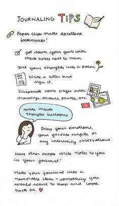 journaling tips :)