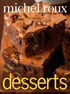 A comprehensive and gorgeous desserts cookbook from acclaimed chef Michel Roux…