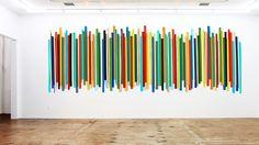 HUGE Wood Stick Wall Sculpture 120x55 Custom by RosemaryPierceArt