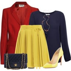 Red, Blue and Yellow