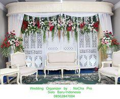 simple weding decoration #white #decoration #wedding #gebyok, wedding organizer by nacha pro