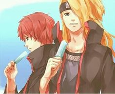 1000 images about deidara and sasori on pinterest