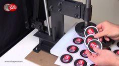 Troqueladora de corte para los diseños de las chapas, gran capacidad de corte. #Chapea