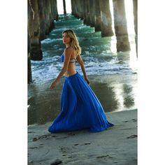 wearing maxi skirt looking out at ocean - Google Search