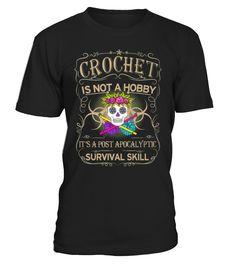 CROCHET! AWESOME TEE !  Funny Crochet T-shirt, Best Crochet T-shirt