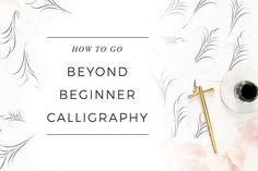 So, you've learned how to use the tools & gotten started with a beginner alphabet, but what is the next step that will best help you improve your 2017 Calligraphy, Laura Hooper Calligraphy, Calligraphy For Beginners, Calligraphy Practice, Arts Ed, Make New Friends, Improve Yourself, Place Card Holders, Lettering