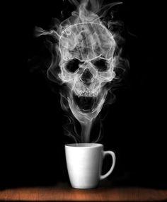 coffee skull