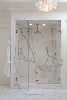 Bathroom Showers non-caffienated ways to wake up | marble shelf, master shower and