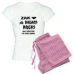 Ghost Adventures Women Light Pajamas. love Zak Bagans!