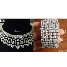 I can't wait to go to #jewelleryarabia2015 in #Bahrain to see all the lovely sparklies like these from @kamyenjewellery