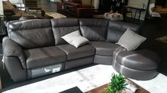 Natuzzi sofa. Cult 2575. Dark brown. 270x138 cm. 19520 aed Sofa, Couch, Home And Living, Dark Brown, Florida, Furniture, Home Decor, Settee, Settee