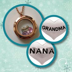 Grandma would love this!!!  For more #designs visit my page: https://www.facebook.com/OOIndependentDesignerKimMichels #grandma #lockets