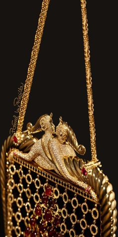 Regilla ⚜ Stefano Canturi's diamond bag inspired by Erté