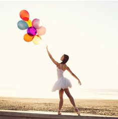 Dance pose- balloons would be a fun prop http://AFitBeachBody.com