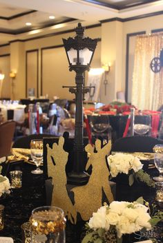 """Beautiful Tablescape """"Singing in the Rain"""" Theme Bash Conference – Table Design Competition"""