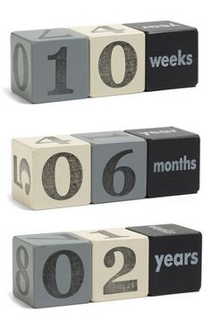 Love these baby age blocks! http://rstyle.me/n/mzbvvnyg6