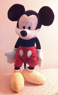 "Disney Mickey Mouse Plush Stuffed Animal Toy 20"" Just Play #DisneyJustPlay"