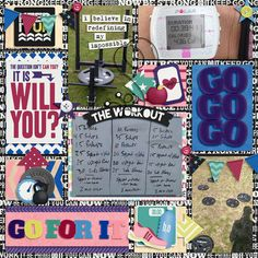 Go For It and Go For It Cards by Shawna Clingerman  Universal Album 2 MEGA by Cindy Schneider
