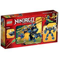 Lego Ninjago 70754 - Jay's Elektro - Mech, 2 Minifiguren mit Ausrüstung und Zubehör: Amazon.de: Spielzeug