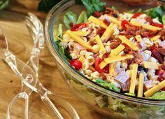 Club Pasta Salad. Photo by CulinaryExplorer