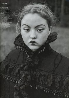 Issue : VOGUE Russia October 1998 Title : The Wood Tale Photography : Juergen Teller ...