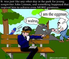 Iam the walrus cartoon images | flat,800x800,070,f.jpg