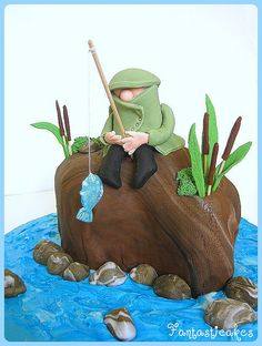 Fisherman cake. Just like that he's just a nose.