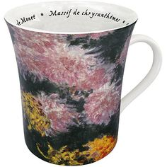 Konitz 'Les Fleurs Chez Les Peintres -Monet' Mugs