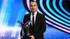 #Iniesta #UEFA Best European Player Award