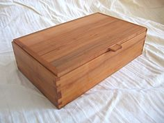 Dovetailed Box...A great way to practice hand cut dovetails.
