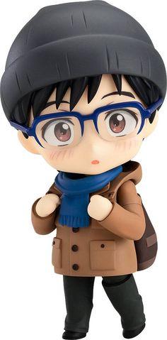 Yuri Katsuki Casual Nendoroid Action Figure