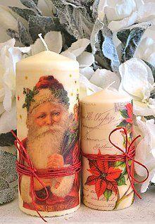 Svietidlá a sviečky - Vianočné duo - 5808824_