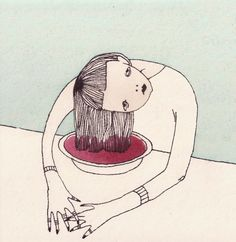 Theory Of Disease — korvjl: beetroots / april 2014 Art And Illustration, Illustrations, Kunst Inspo, Art Inspo, Arte Indie, Arte Dope, Posca Art, Wow Art, Art Sketchbook