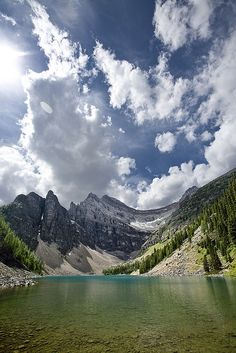 Lake Agnes, Banff National Park.