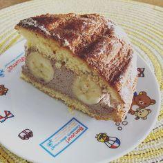 おかんから、オレンジページ貰ったから、作ってみた😁 フランスの家庭料理で、パンとビスキュイからパンビーってゆうらしい。 生チョコバナナ味♡ #パンビー #生チョコバナナ #オレンジページ #ケーキ作り Custard Desserts, Little Kitchen, Cafe Food, Sweets Recipes, Yummy Cakes, Tart, French Toast, Food And Drink, Pudding