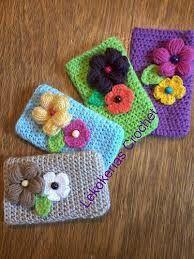 fundas para celulares al crochet - Buscar con Google