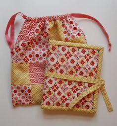 Travel sewing kit tutorial