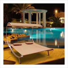 Vifah Giric Outdoor Steel Double Hammock Bed-Home and Garden Design Ideas