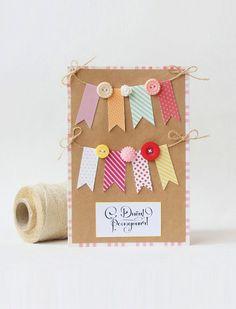 Дизайнерские открытки с днем рождения своими руками
