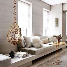 Kitchen Window Seat Decor Living Rooms Ideas For 2019 Interior, Sofa Design, Living Room Decor, Contemporary Decor, Home Decor, Room Remodeling, House Interior, Home Interior Design, Interior Design
