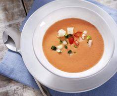 Recette Gazpacho par thermomix - recette de la catégorie Entrées