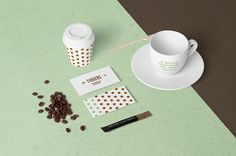 Coffee Stationery Mock-Up on Behance