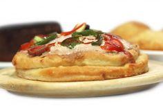 Para os muito gulosos pense em fazer uma pizza em andares. Coloque sua massa de pizza em uma assadei... - Receitas sem Fronteiras