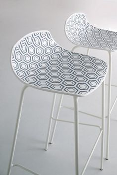 High technopolymer #barstool Alhambra Collection by GABER | #design Stefano Sandonà